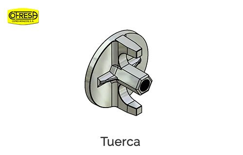 Gemec - Cofresa - Tuerca2