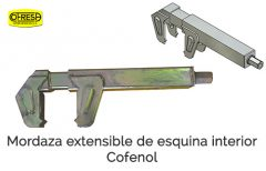 Gemec - Cofresa - Accesorios - Mordaza extensible esquina Cofenol