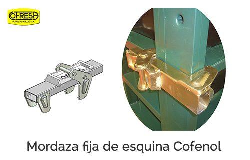 Gemec - Cofresa - Accesorios - Mordaza fija esquina Cofenol